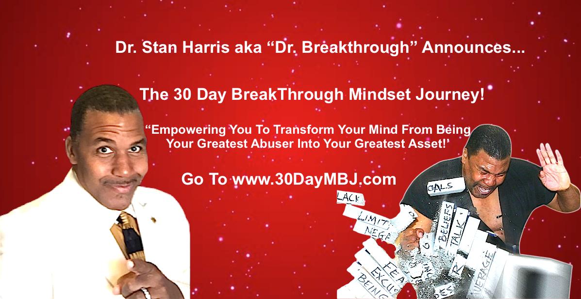 30 Day Mindset Breakthrough Journey