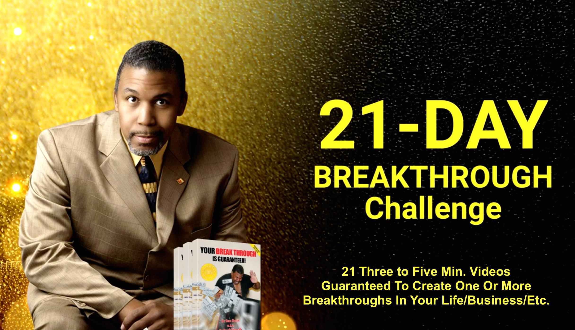 21 Day Breakthrough Challenge ...