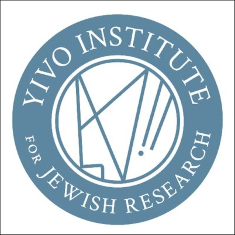 Chany Rosengarten Yivo Institute for Jewish Research