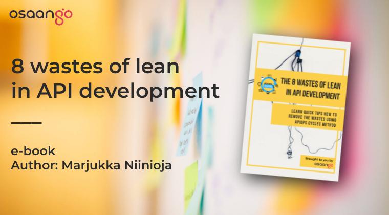 8 wastes of lean in API development  e-book banner