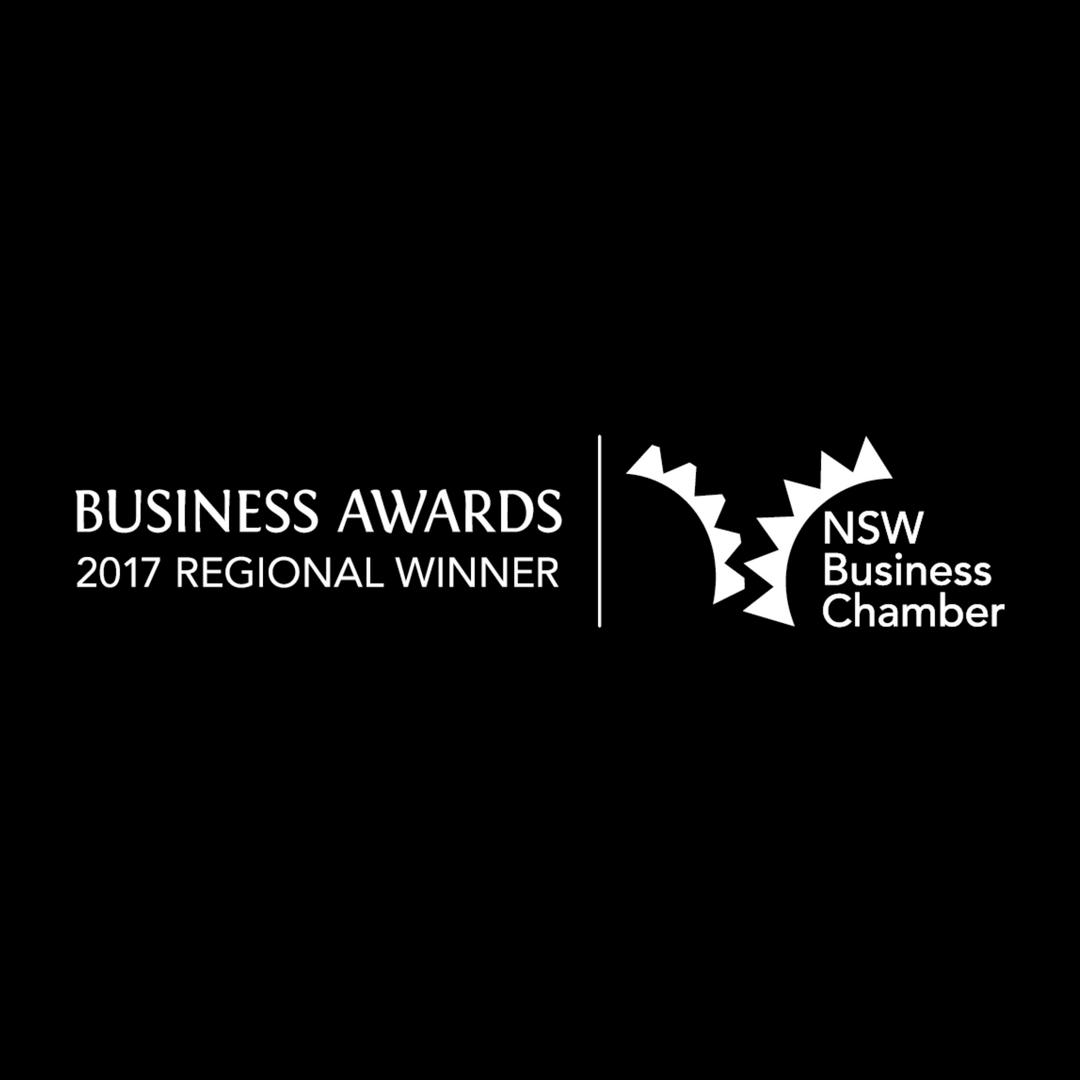 Serena Dot Ryan - NSW Business Chamber Regional Winner 2017