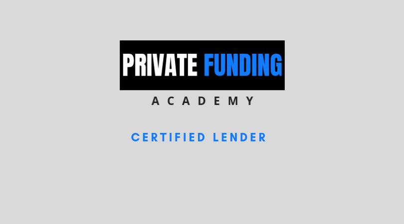 Lender Certification