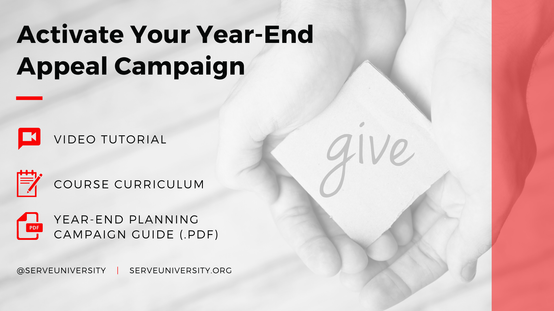 Activate Your Year-End Appeal Campaign