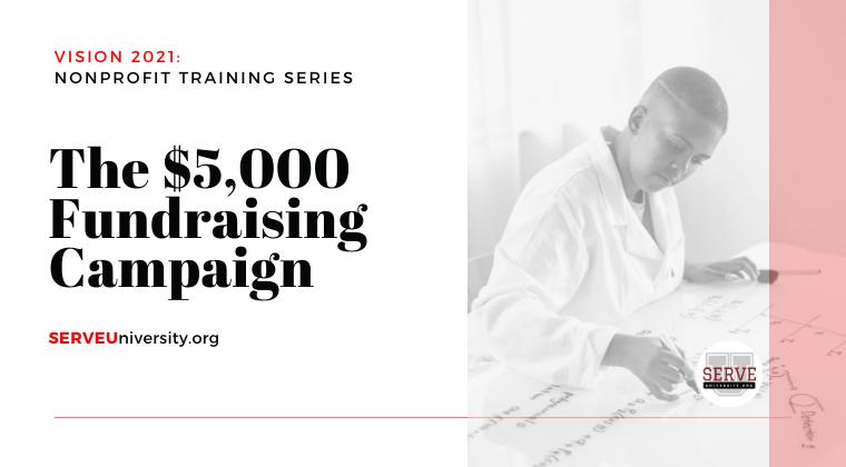 The $5,000 Fundraising Formula