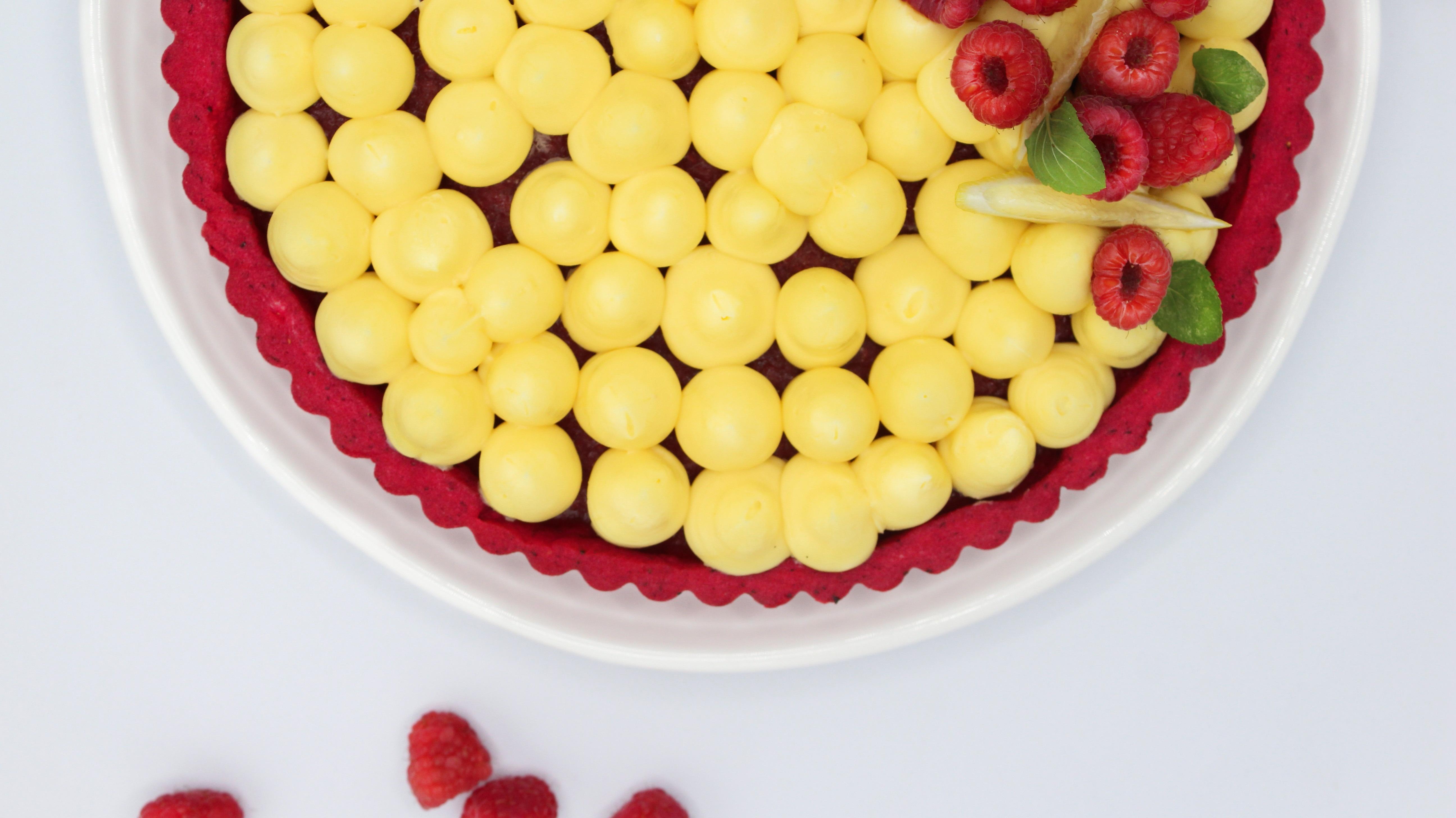 Tarta de Frambuesa y Limón