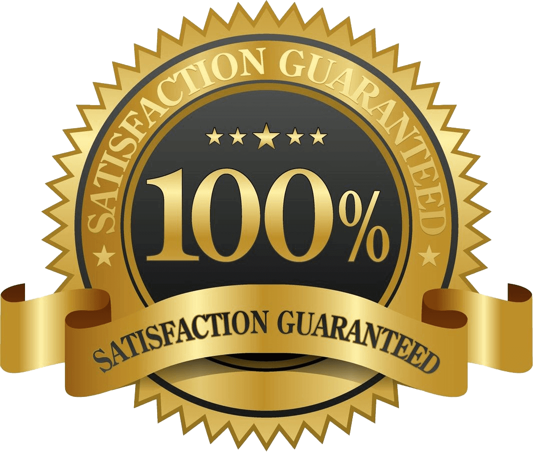 100% course satisfaction guarantee