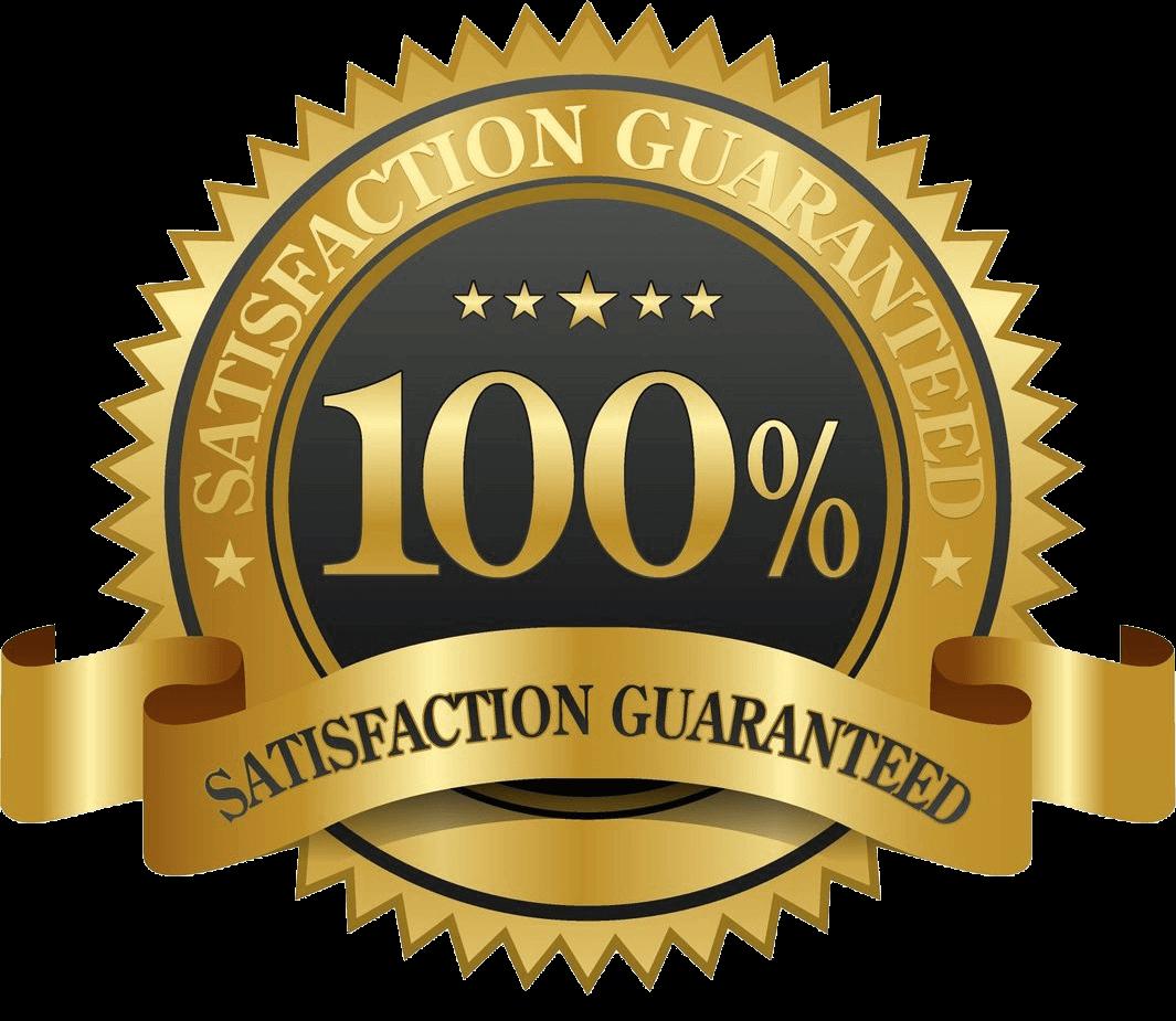 100% course satisfaction guarantee