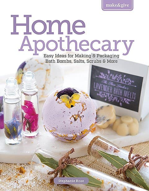 This Beautiful, Inspirational <i>Home Apothecary Book</i> Is Included!