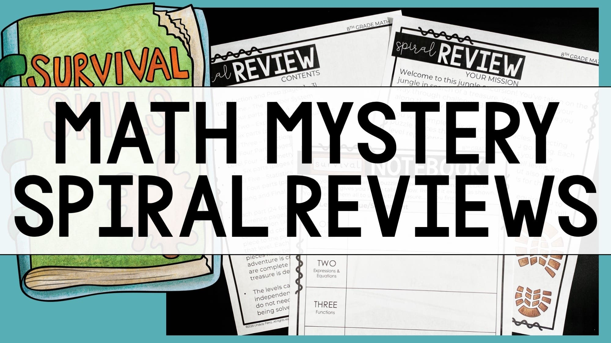 Math Mystery Reviews
