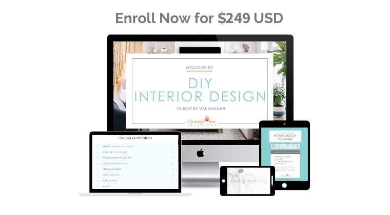 DIY Interior Design Course