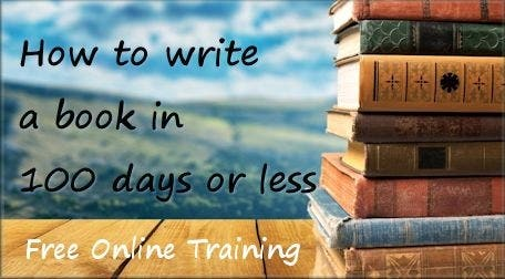How to write a book in 100 days...or Less!