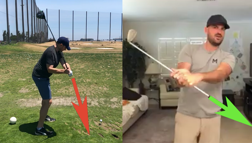 WHAT IT'S LIKE TO TAKE AN ONLINE SWING ANALYSIS