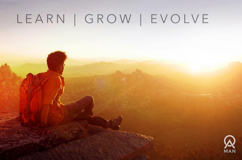 Learn. Grow. Evolve.