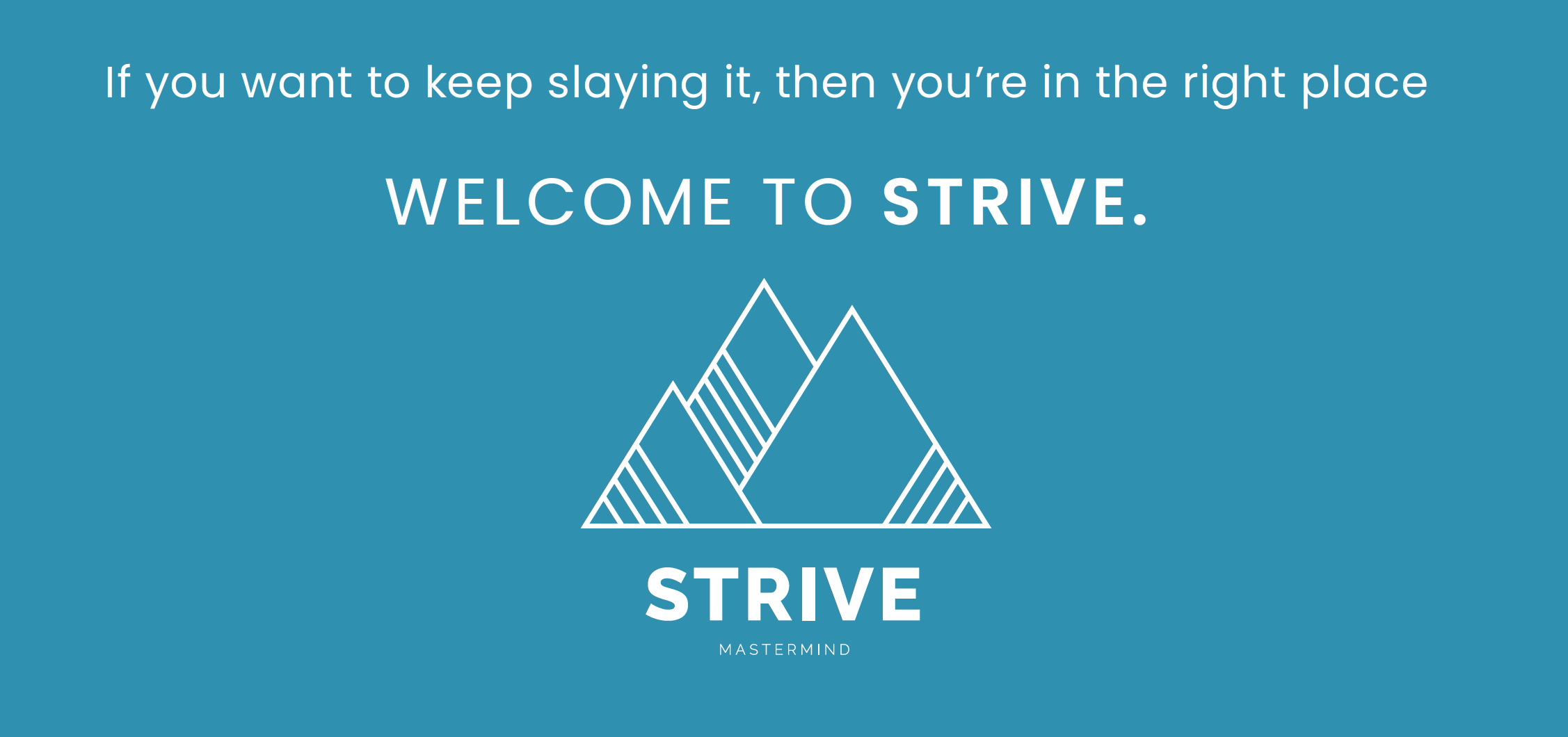 STRIVE Support