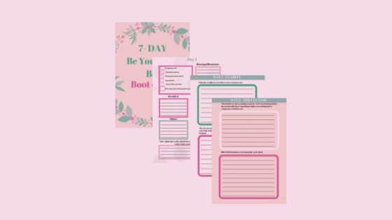 Be your own bae accountability handbook