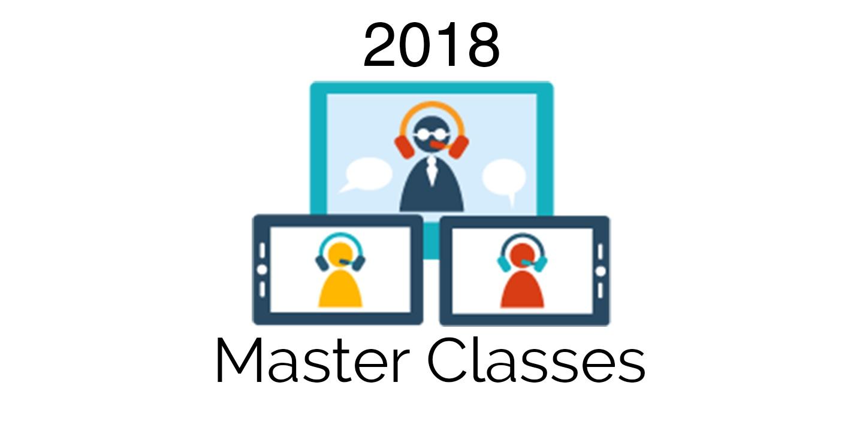 Master Classes | 2018