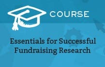 Essentials for Successful Fundraising Research