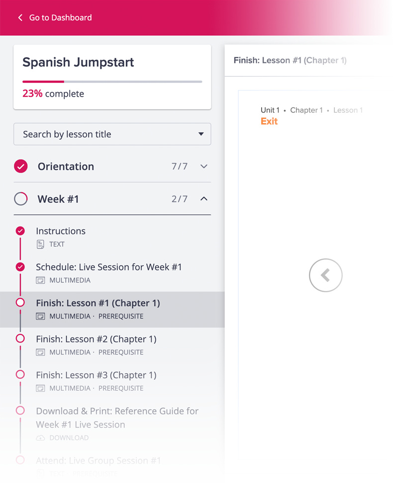 Rapidly build practical, everyday language skills.
