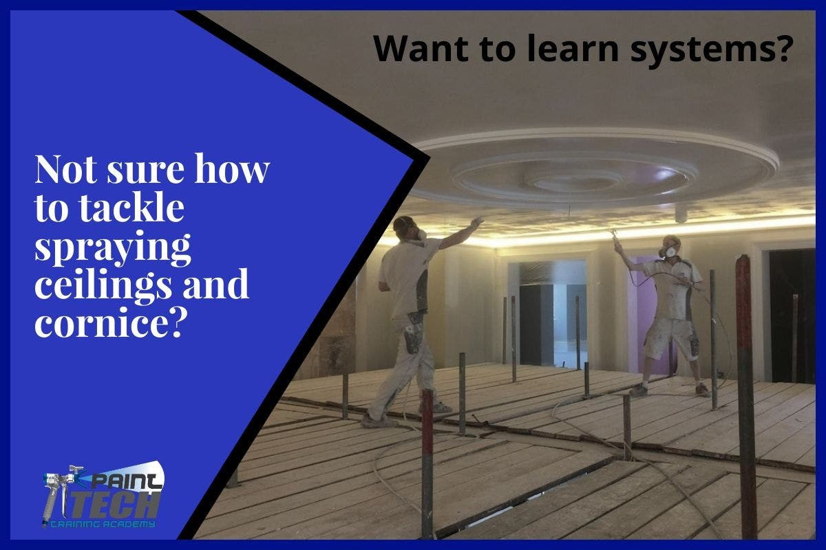 Spraying Systems for Ceilings