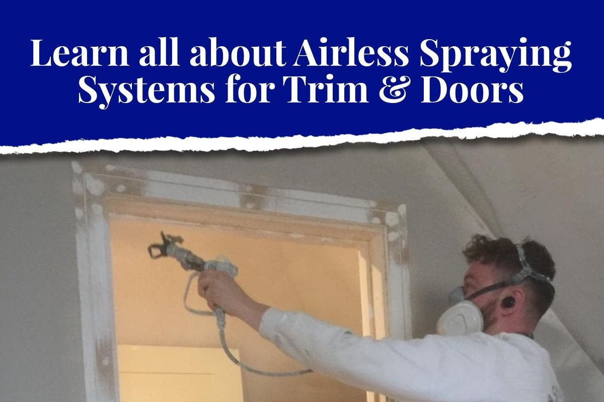 Spraying Systems for Trim & Doors