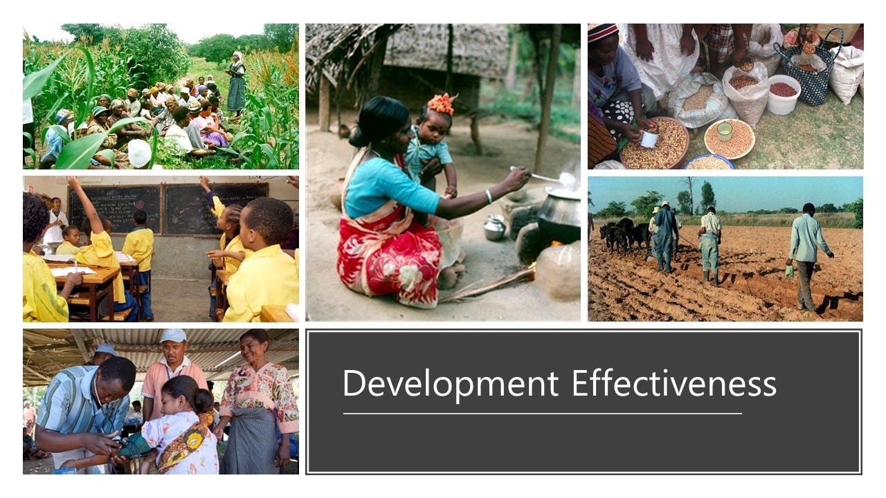 Enhancing Development Effectiveness and Poverty Alleviation