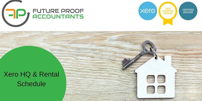 Xero HQ Reporting & Rental Schedules