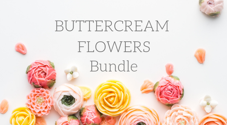 Buttercream Flowers Class (Bundle)