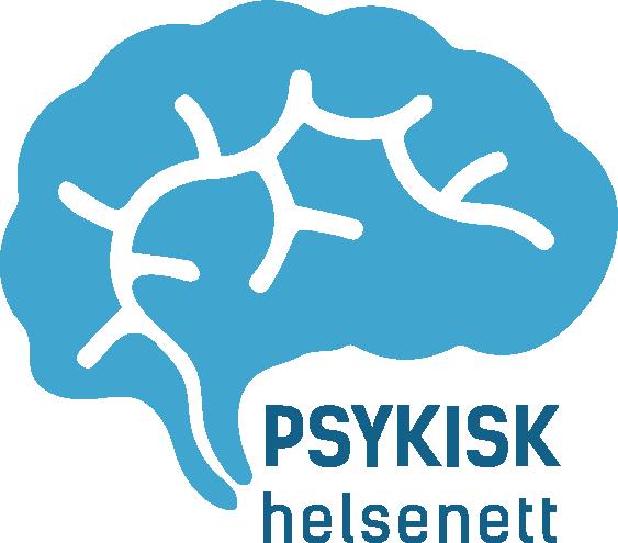 Bildet viser logoen til psykisk helsenett