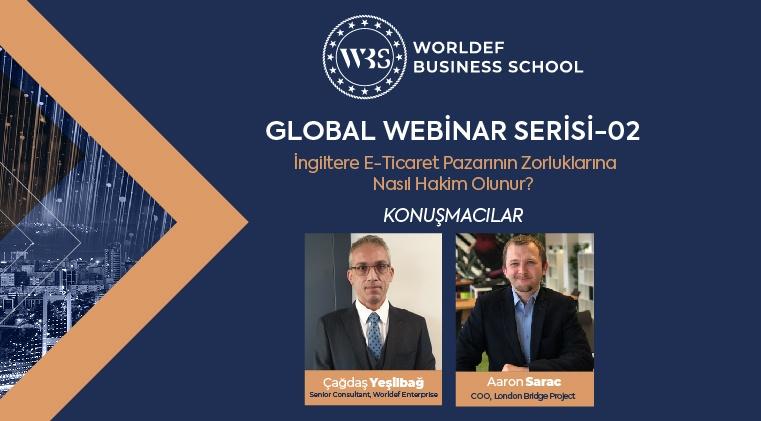 Global Webinar 2 | Aaron Sarac - İngiltere E-Ticaret Pazarının Zorluklarına Nasıl Hakim Olunur?