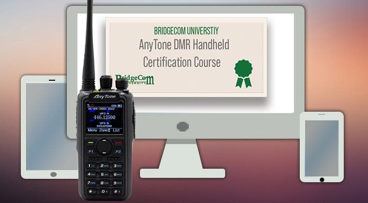 AnyTone Handheld Course