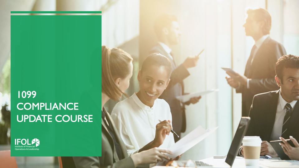 1099 Compliance Update Course 2020