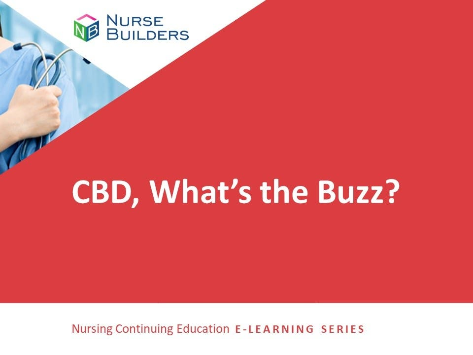 CBD What's the Buzz?