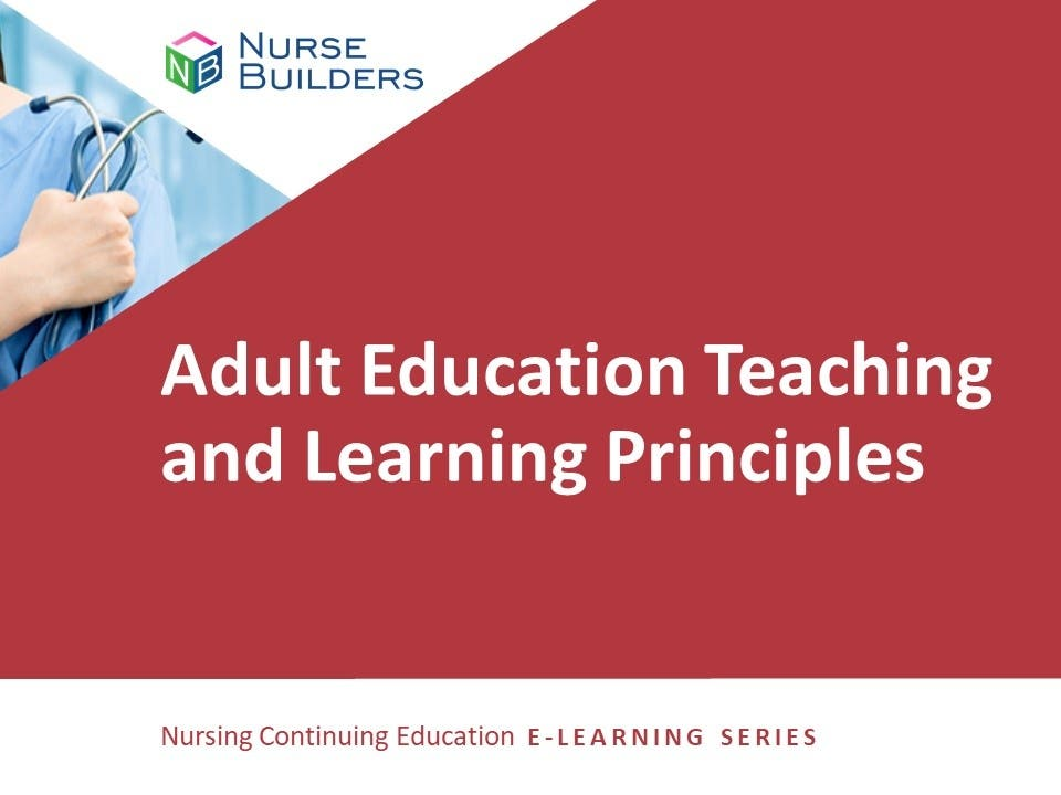 Adult Education Teaching and Learning Principles