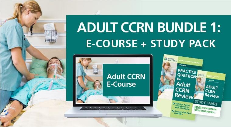 Adult CCRN Bundle 1: E-Course + Study Pack