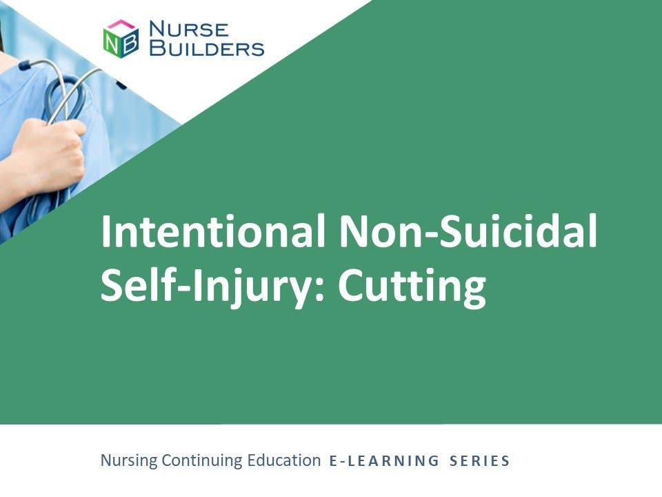 Intentional Non-Suicidal Self-Injury: Cutting