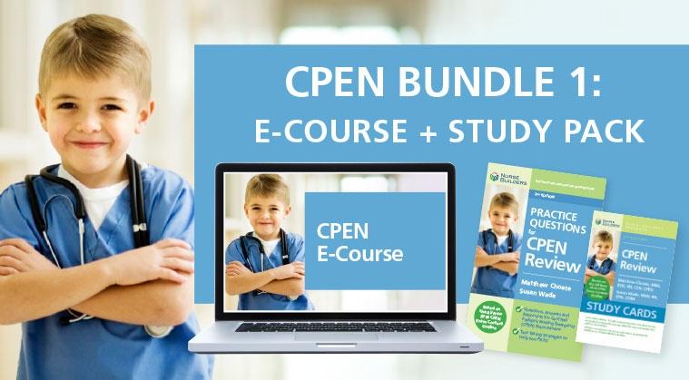 CPEN Bundle 1:  E-Course + Study Pack