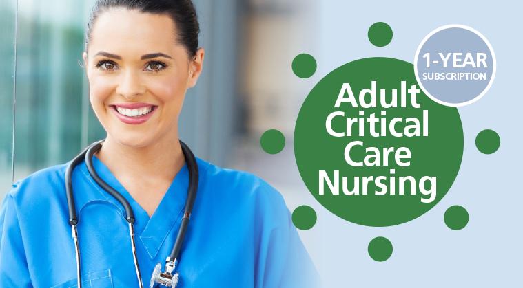 Adult Critical Care Nursing - Subspecialty CE Membership
