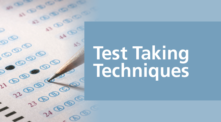 Test Taking Techniques:  A Guide for Nursing Certification Exams E-Course