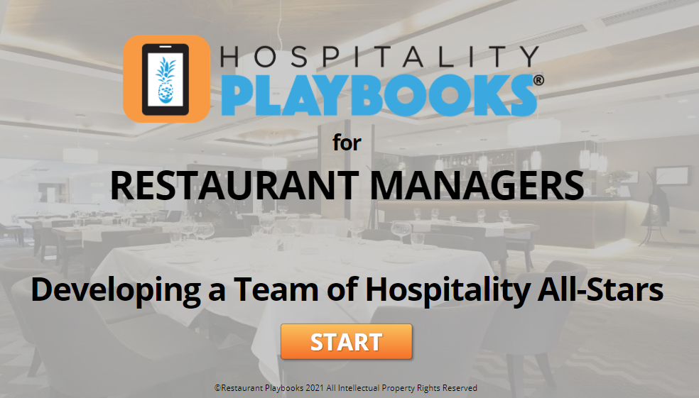 Hospitality All-Star Course and Game for Managers