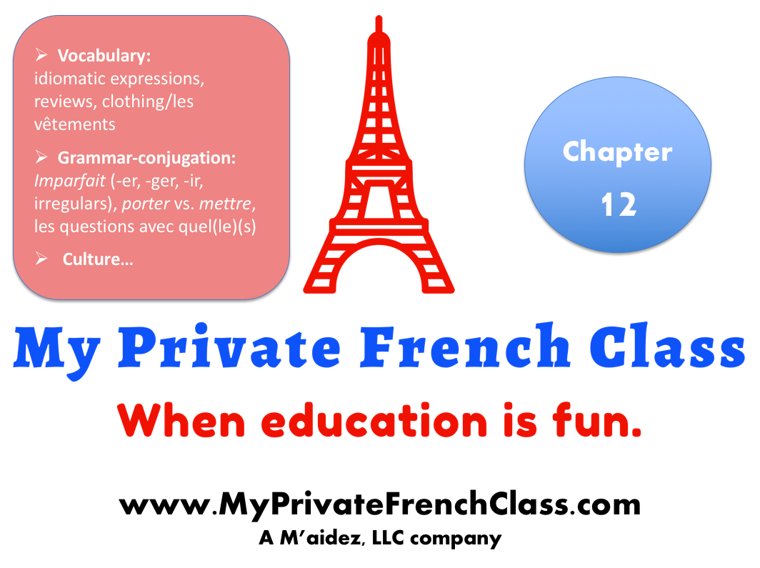 French intermediate - Chapter 12