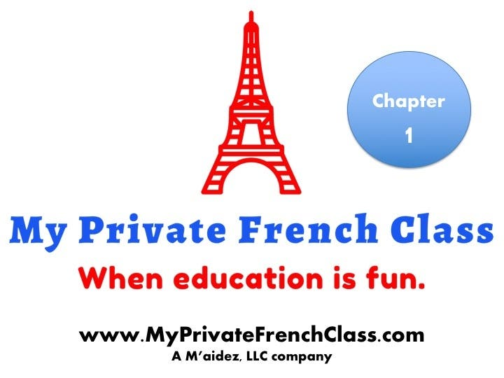 French 101 - Chapter 1