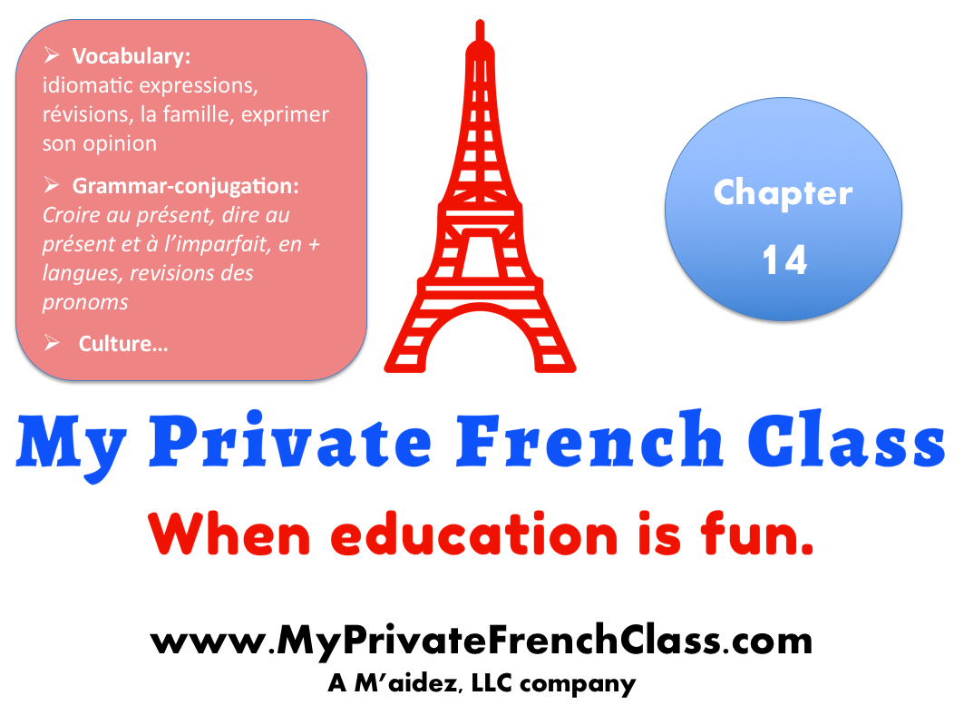 French intermediate - Chapter 14