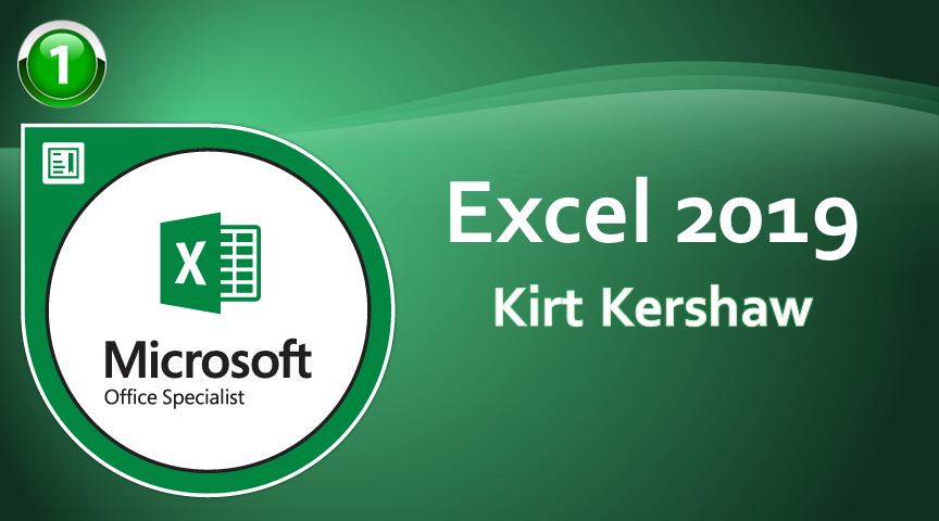 Excel 2019 Level 1 - Beginner