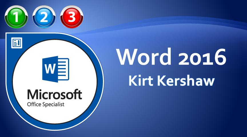 Word 2016 Beginner to Advanced