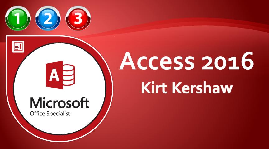 Access 2016 Beginner to Advanced