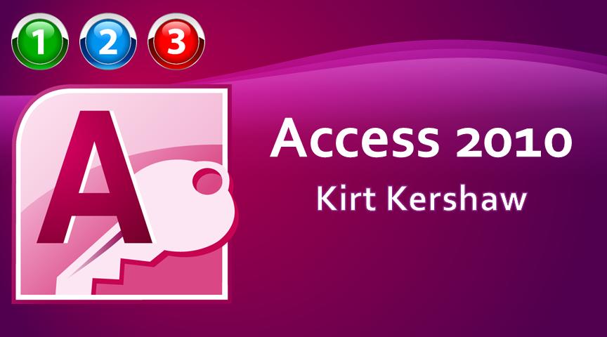 Access 2010 Beginner to Advanced