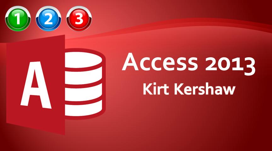 Access 2013 Beginner to Advanced