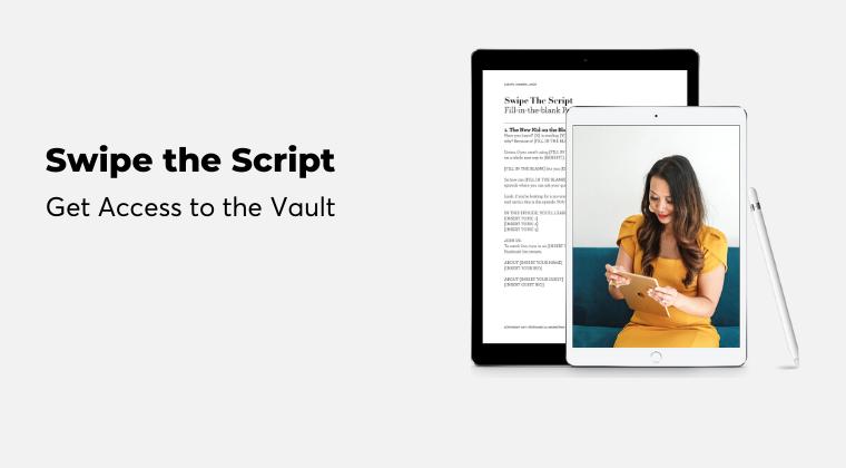 Swipe the Script Vault