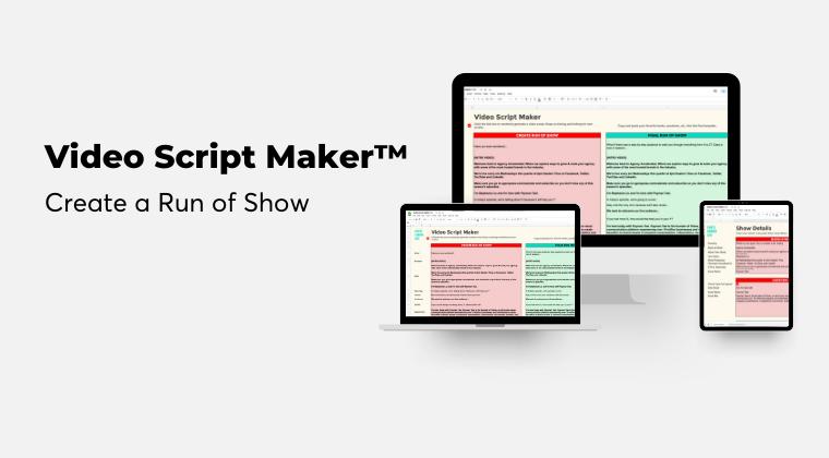 Video Script Maker™