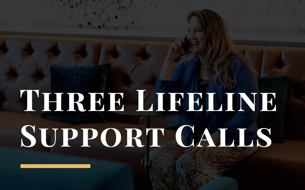 Three (3) Lifeline Calls